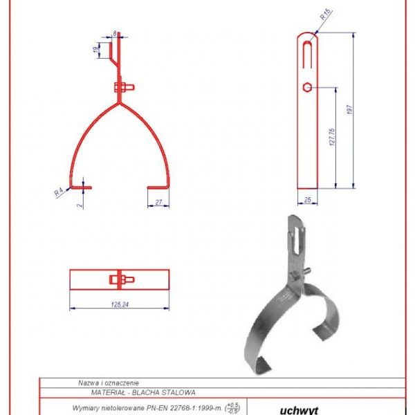 05. Demijohn-like bracket G-1 ZZ