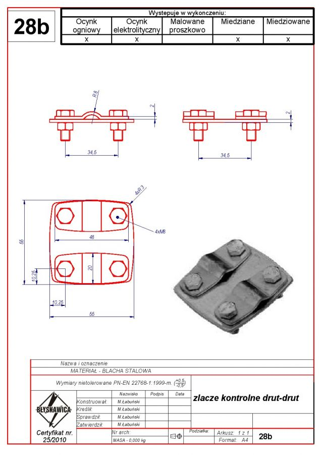 28b. Wire – wire control joint